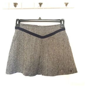 Tommy Girl brown tweed skirt size M
